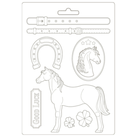 Romantic Horses: Standing Horse - Maxi Mold
