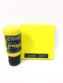 Lemon Zest - Dylusions Paint Flip Cap Bottle