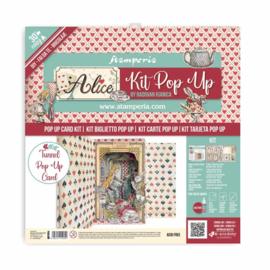 """Pop Up Kit Inch Alice Wonderland Tunnel - 12x12"""""""
