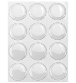 Epoxy Dot Stickers Round 25mm