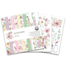 "The Four Seasons - Spring - 6x6"""