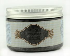 Zwart - Dora Perla Metallic Reliëf Pasta