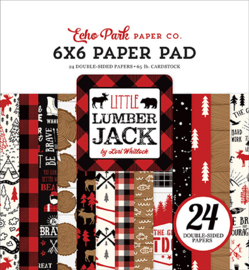 """Little Lumberjack - 6x6"""""""