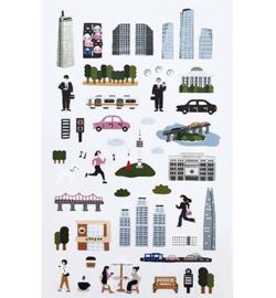 City - Mini Stickers