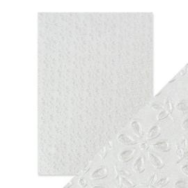 Embossed Papier - English Lace Handmade
