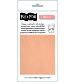 Wow! Fabulous Foil Blush