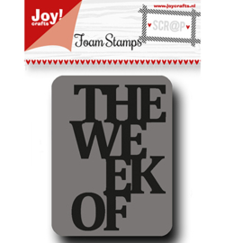 The Week Of - Foamstamp