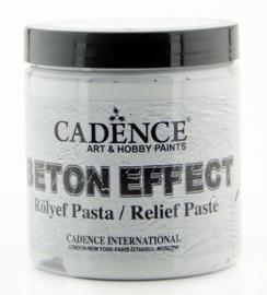 Beton Effect Relief Pasta Grijs