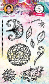 Bohemian Flowers Art By Marlene 3.0 nr.35 - Clearstamp