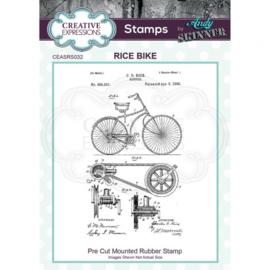 Rice bike - Clingstamp