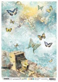 Jenine's New Awakening nr.04 - Rijstpapier A4