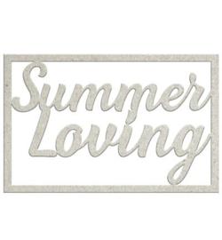 Summer Loving - Chipboard