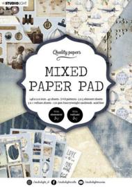 Mixed Paper Pad nr.162 - A5