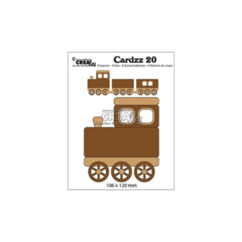 Train (cardsize) - Stans