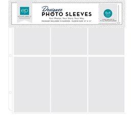 "Photo Sleeves 4x6"" Vertical Pocket - 12 x 12"""