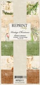 Vintage Christmas Paper Pack - Slimline