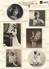 Vintage Kids - Knipvel