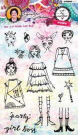 Girl Boss Art By Marlene 3.0 nr.36 - Clearstamp