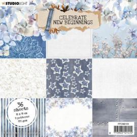 "Celebrate New Beginnings 159 - 6x6"""