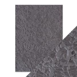 Embossed Papier - Crushed Metal Handmade