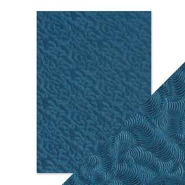 Embossed Papier - Deep Sea Dive Handmade