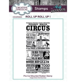 Roll up Roll up! - Clingstamp