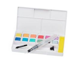 pastel shades paint pan set
