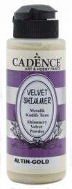 Velvet Shimmer Powder Goud
