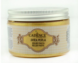 Goud - Dora Perla Metallic Reliëf Pasta