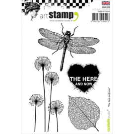 The Here And Now - Clingstamp A7
