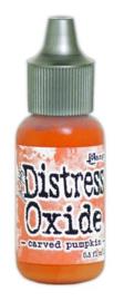 Carved Pumpkin - Distress Oxide Re-ink