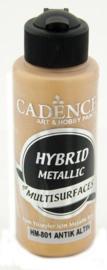 Antiek Goud - hybride metallic verf