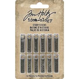 Story Sticks - Decoratie metaal