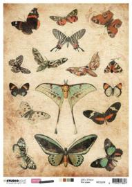 Just Lou Exploration Collection nr.08 - Rijstpapier A4