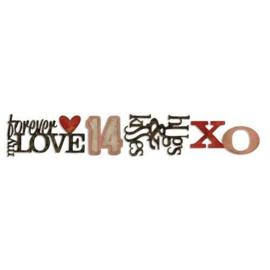 Stacked Words: valentine - Stans