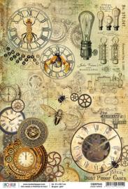 Jules Verne -Rijstpapier A4