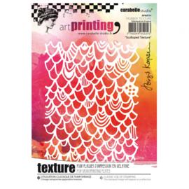 Art Printing Scalloped Texture