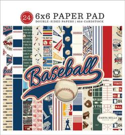 "Baseball - 6x6"""
