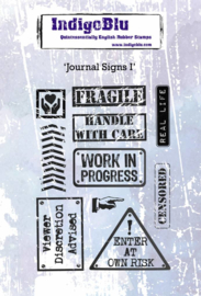 Journal Signs 1 - Clingstamp A6