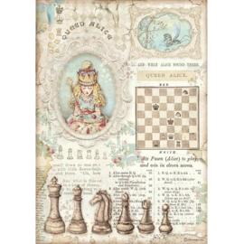 Alice Queen Alice - Rijstpapier A4