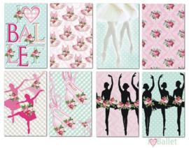 I Love Ballet Paper Pack