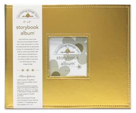 Design Storybook Album - Gold