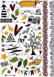 Family Stories - Stickervel