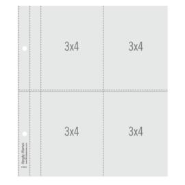 "Simple Stories SN@P! Flipbook Page Refills - 6x8"""