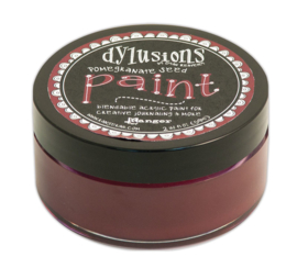 Pomegranate Seed - Dylusions Paint
