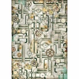 Pipes - Rijstpapier A4