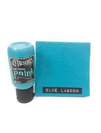 Blue Lagoon - Dylusions Paint Flip Cap Bottle
