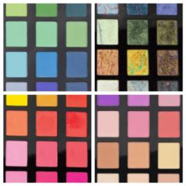 28 maart 2020 Gel Plate technieken #8 Soft Pastels