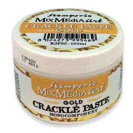 Crackle Paste Gold