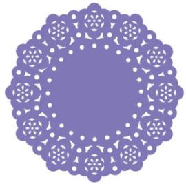Doilies Lilac - 10 pcs